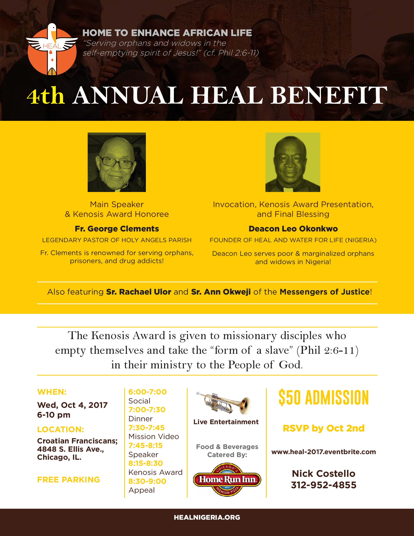 2016 Third Annual HEAL Benefit