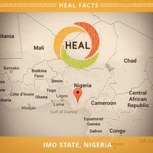 HEAL Nigeria Map
